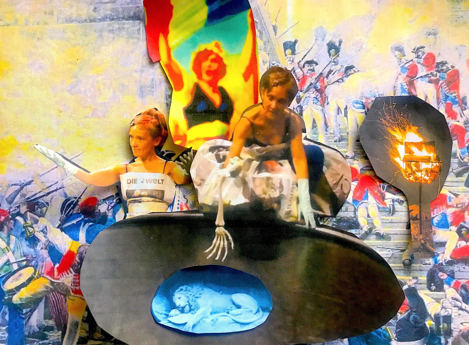 Lilian Frei «In bocca al leone – ohne Frauen kein Krieg!»